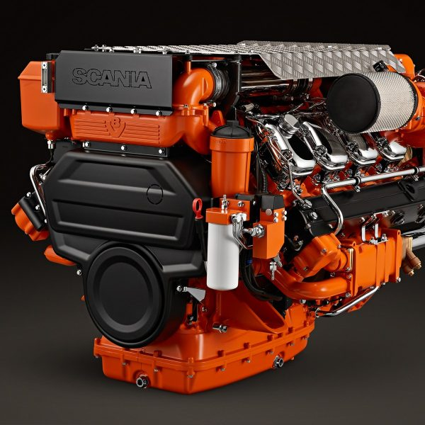 Scania Marine Diesel Engines Sales and Servicing - Aquaserv NZ