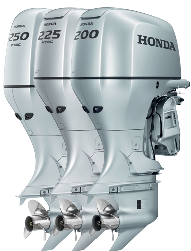 high horsepower Honda outboards